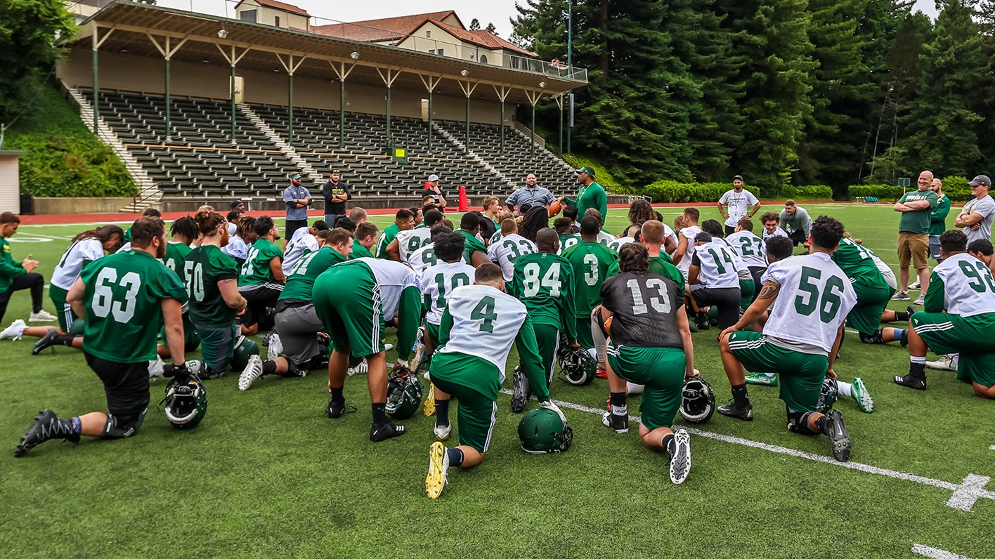 Hsu Football Reports For Day One Of Fall Camp Humboldt State
